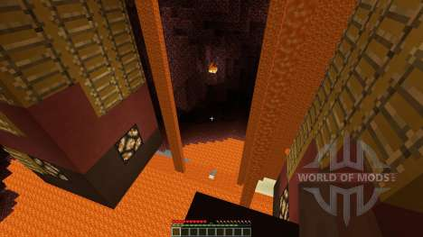 Minecraft Puzzle map: Nether empire for Minecraft