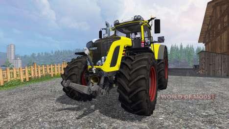 Fendt 936 Vario yellow bull for Farming Simulator 2015