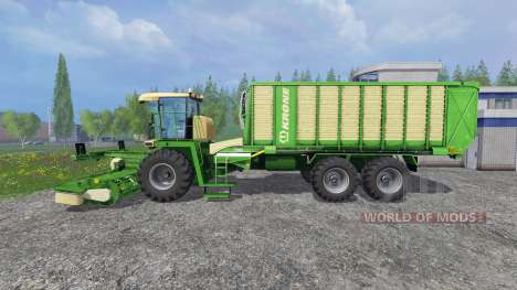Krone BIG L500 for Farming Simulator 2015