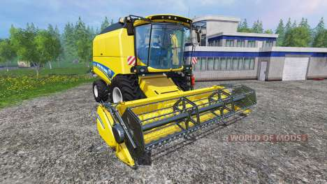 New Holland TC5.90 [pack] v1.3 for Farming Simulator 2015