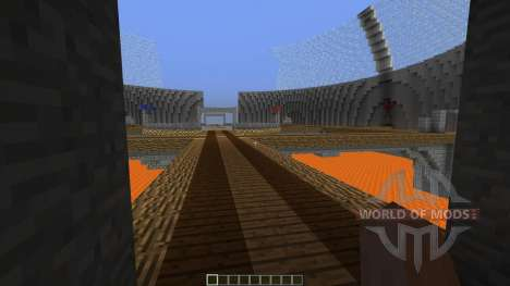 4 Spheres CTF map for Minecraft