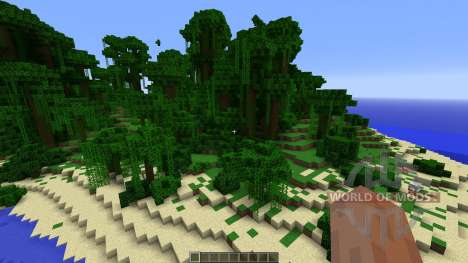 Aero Island Custom Island Landscape for Minecraft
