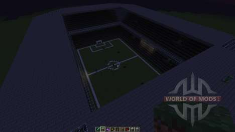 Football stadium new for Minecraft
