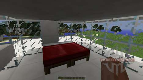 FOREST-SIDE AMODERN HOUSE for Minecraft