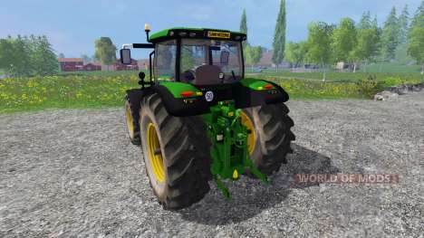 John Deere 6170R v2.2 for Farming Simulator 2015
