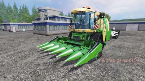 Krone Big X 1100 Hkl v2.0 for Farming Simulator 2015
