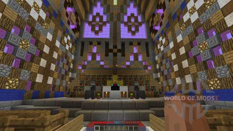 FlatWorld Cathedral for Minecraft