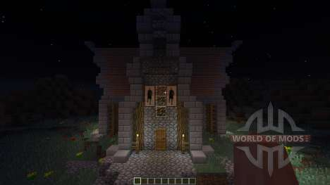 Medevial house for Minecraft