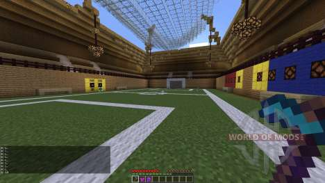 PLAYABLE SOCCER STADIUM for Minecraft