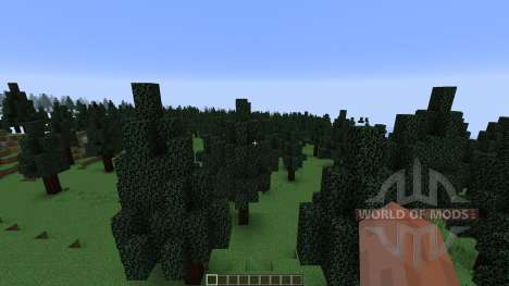 Pine Valley Minecraft Custom Terrain for Minecraft