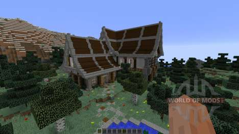 Medieval Fantasy Home 1 for Minecraft