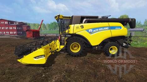 New Holland CR9.90 v1.1 [yellow edition] for Farming Simulator 2015