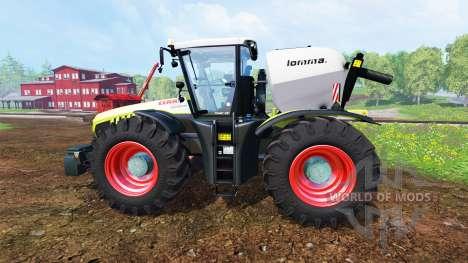 CLAAS Xerion 4500 v1.5 for Farming Simulator 2015