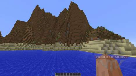Valley Mountains for Minecraft