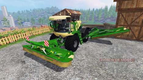 Krone Big M 500 v1.1 for Farming Simulator 2015
