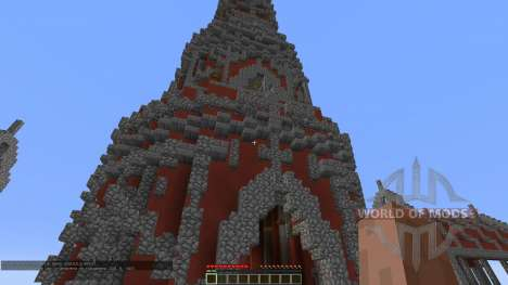 Fly Red Tower for Minecraft