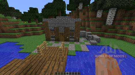 Old Farm Town for Minecraft