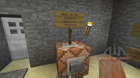 Command Block Minecart Station for Minecraft