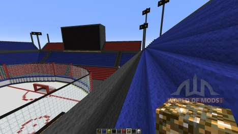 Oustanding Outdoor Hockey Arena for Minecraft