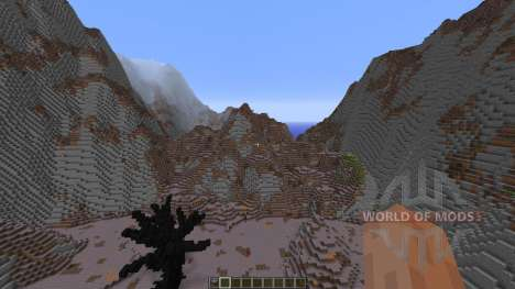 Wasteland of the dragons for Minecraft