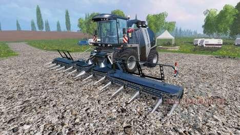 Krone Big X 1100 [black edition] for Farming Simulator 2015