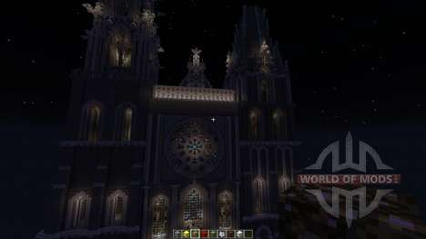 Chartres Cathedral for Minecraft