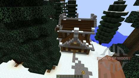 Vikdal Vikingvillage for Minecraft
