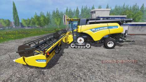 New Holland CR10.90 [harvest pack] for Farming Simulator 2015