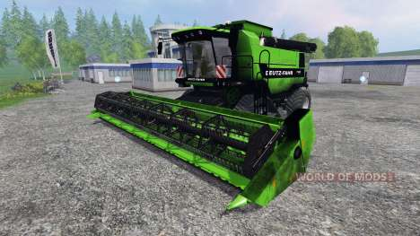 Deutz-Fahr 7545 RTS for Farming Simulator 2015