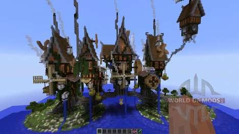 Steamshire Bridge Line for Minecraft