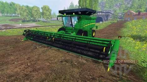 John Deere S 690i v1.0 for Farming Simulator 2015