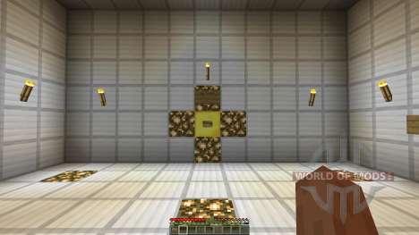 Minecraft Redstone Boss battle mech GlaDOS for Minecraft