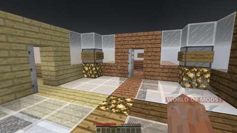 Sky Castle Chunk Battle for Minecraft
