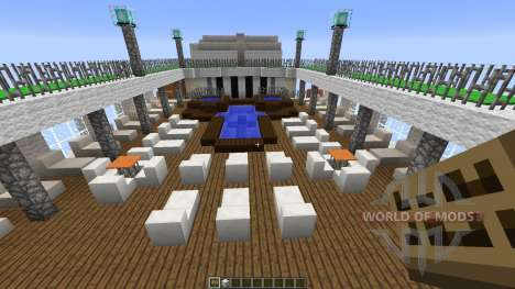 Cruise Ship Silver Cloud for Minecraft
