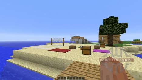 Sea snake island for Minecraft