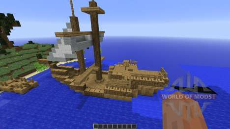 Survival Island plus for Minecraft