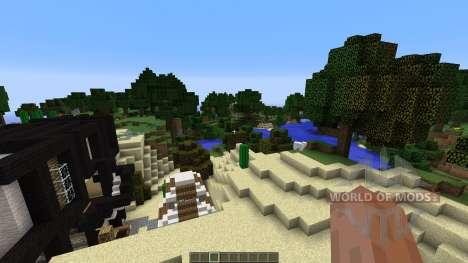Modern House 5 for Minecraft