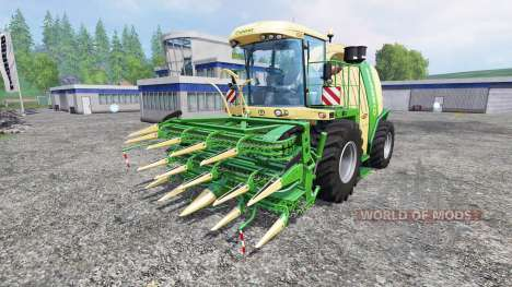 Krone Big X 1100 v2.0 for Farming Simulator 2015