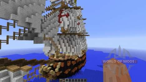 Spanish Frigate: Perla de Espana for Minecraft