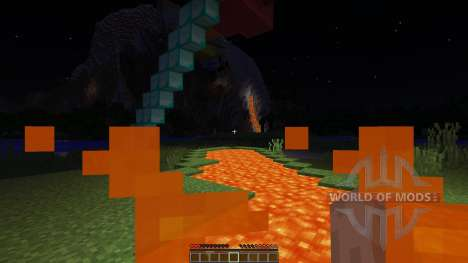 Sky land adventure map for Minecraft
