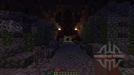 Pumpkin Wizard Boss Fight for Minecraft