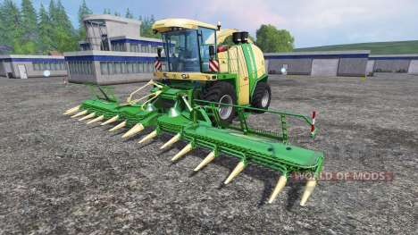 Krone Big X 1100 [rent] for Farming Simulator 2015