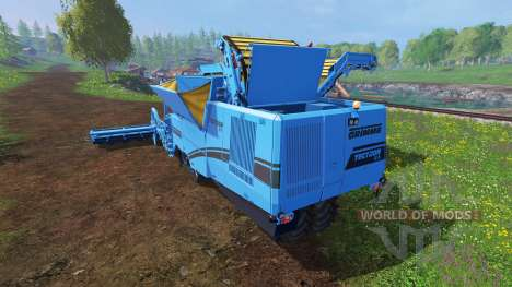 Grimme Tectron 415 v1.2 for Farming Simulator 2015