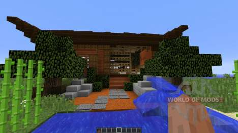 Asian Style Home for Minecraft