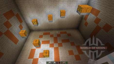 11 seconds Parkour Map for Minecraft