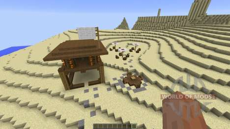 The Dunes Beach for Minecraft