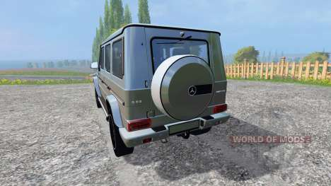 Mercedes-Benz G65 AMG for Farming Simulator 2015