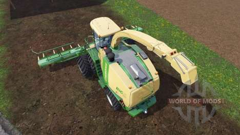 Krone Big X 1100 [twin fronts wheels 2] for Farming Simulator 2015