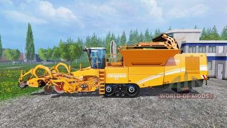 Grimme Tectron 415 [orange] for Farming Simulator 2015