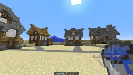 Medieval Village Concept for Minecraft